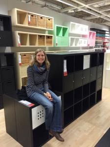 Anni in Ikea-heaven